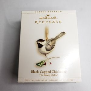 Hallmark Ornament Black Capped Chickadee